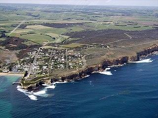 Port Campbell Town in Victoria, Australia
