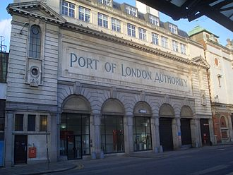 Port of London Authority - Port of London Authority building on Charterhouse Street, EC1
