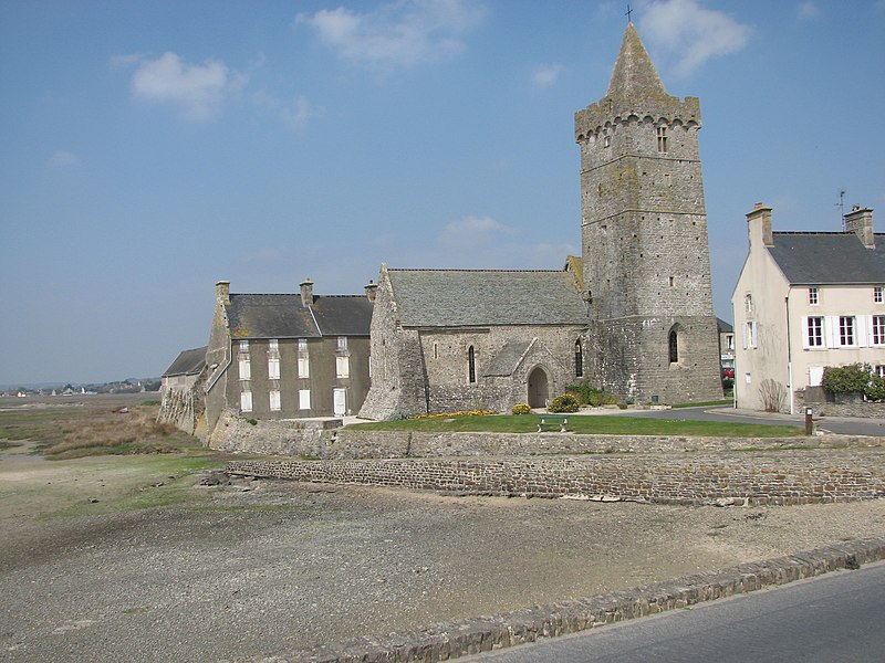 Notre-Dame church, Portbail, Normandy