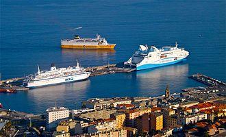 Bastia - Port of Bastia