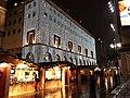 Portici settentrionali di piazza Duomo con mercatini di natale 2017 foto 3.jpg