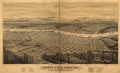 Portland, Oregon, population 22,000, looking east to the Cascade Mountains.png