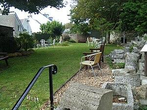 Portland Museum, Dorset - The garden area of Portland Museum.