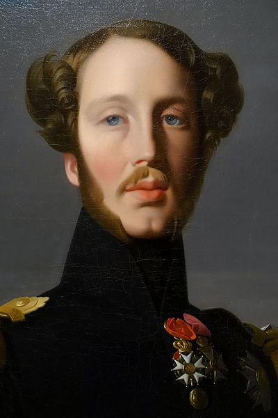 The Hartford At Work >> File:Portrait of Ferdinand Philippe, Duc d'Orleans, by ...