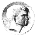 Portrait of Frank Hill Smith ca1880 after medallion by Olin Levi Warner.png
