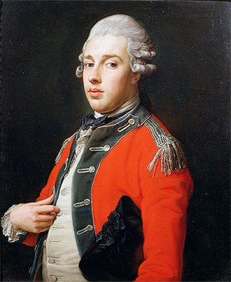 George Cholmondeley, 1st Marquess of Cholmondeley - The Marquess of Cholmondeley by Pompeo Batoni, 1772, Houghton Hall, Norfolk.