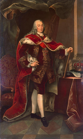 Joseph I of Portugal - Image: Portrait of Joseph Emanuel, King of Portugal (1773) Miguel António do Amaral