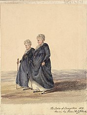 Ladies of Llangollen 1819