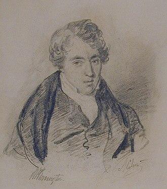 Richard Parkes Bonington - Image: Portrait of Richard Parkes Bonington