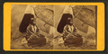 Portrait of native American woman in front of teepee, from Robert N. Dennis collection of stereoscopic views.png