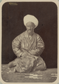 Portraits of the Retinue of the Kokand Khan. Mulla Isaa aul'e WDL10854.png