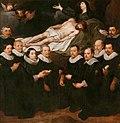 Portretten van tien leden van verschillende gilden van de stad, geknield voor een Piëta.jpeg