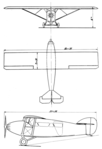 Potez 32 3-view L'Air January 15,1928.png