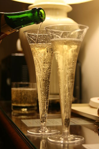 History of Champagne - In modern times, Champagne has become more than just a wine but also a brand that has seen many imitators.