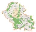Powiat górowski location map.png