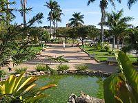 Praça central da cidade de Baldim.JPG