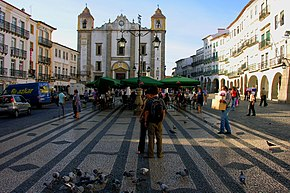 Praca do Giraldo, Evora, Alentejo, Portugal, 28 September 2005.jpg
