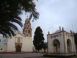 Preĝejo en Cardonal, Hidalgo.JPG