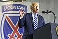 President Trump visits 10th Mountain Division (LI) to sign NDAA 001.jpg