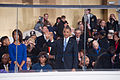 President and first lady wave to performers at 57th Inaugural Parade 130121-Z-QU230-266.jpg
