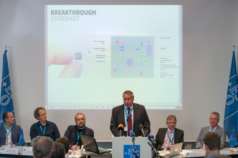 Press Conference at ESO HQ2