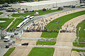 Press and guests on STS-135 launch site.jpg