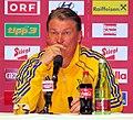 Pressekonferenz nach dem Fußballländerspiel Österreich-Ukraine (01.06.2012) Oleh Blochin3.jpg