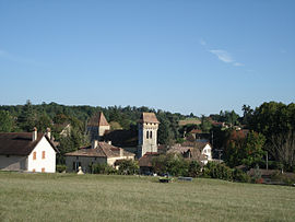 A general view of Pressignac-Vicq