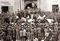 Prihod Titove štafete na Glavnem trgu v Mariboru 1956.jpg