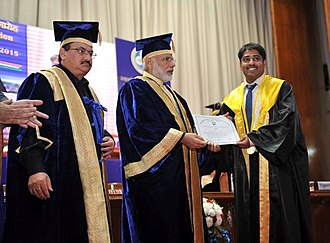 Postgraduate Institute of Medical Education and Research - Prime Minister Narendra Modi at the 34th Convocation of PGIMER.