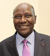 Prime Minister of Cote d'Ivoire, H.E Mr Daniel Kablan Duncan in London, 11 June 2013.jpg