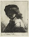 Print, Rembrandt in Cap and Scarf, 1633 (CH 18612691).jpg