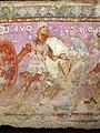 Produzione greca o magnogreca, sarcofago delle amazzoni, 350-325 a.C. ca, da tarquinia 08.JPG