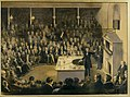 Professor Faraday lecturing at the Royal Institution, 27th December, 1855 RIIC 0006 20110213 BAL EP.jpg