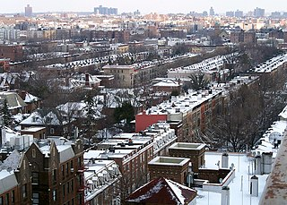 Prospect Lefferts Gardens Neighborhood of Brooklyn in New York City