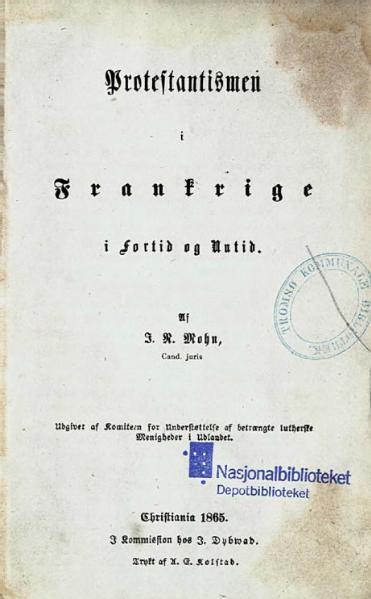 File:Protestantismen i Frankrige.djvu