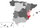 Localización de la provincia de Alicante en España