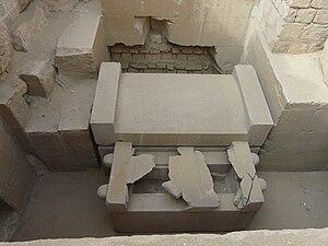 Ptahshepses - Ptahshepses' sarcophagus.