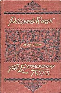 Pudd'nhead Wilson cover
