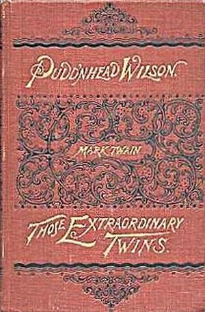 Pudd'nhead Wilson - First edition