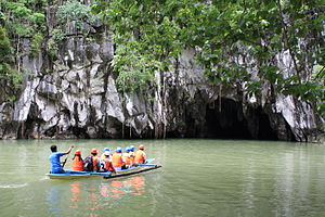 Entrance to the Puerto Princesa Underground River.