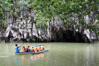 Karst - The Puerto Princesa Underground River, Philippines