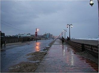 Puri Beach - Image: Puri Beach Promenade 11021