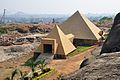 Pyramid-shaped Hall Gonda Hill - Ranchi 9289.JPG