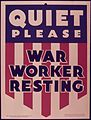 QUIET PLEASE. WAR WORKER RESTING - NARA - 515269.jpg
