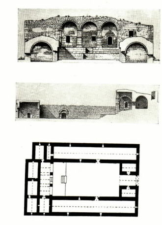 Caravanserai - Garghabazar Caravanserai in Azerbaijan (1681)