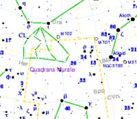 Quadrans muralis map.png