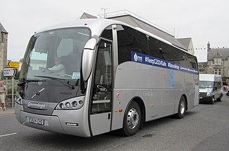 Police bus - A Sunsundegui police bus used by Police Scotland in Thurso, UK.