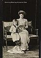 Queen Maud of Norway and her only child.jpg