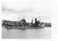 Queensland State Archives 4075 Dredges Brisbane River c 1949.png
